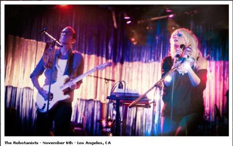 The Robotanists - November 6th - Los Angeles, CA  SYFFAL
